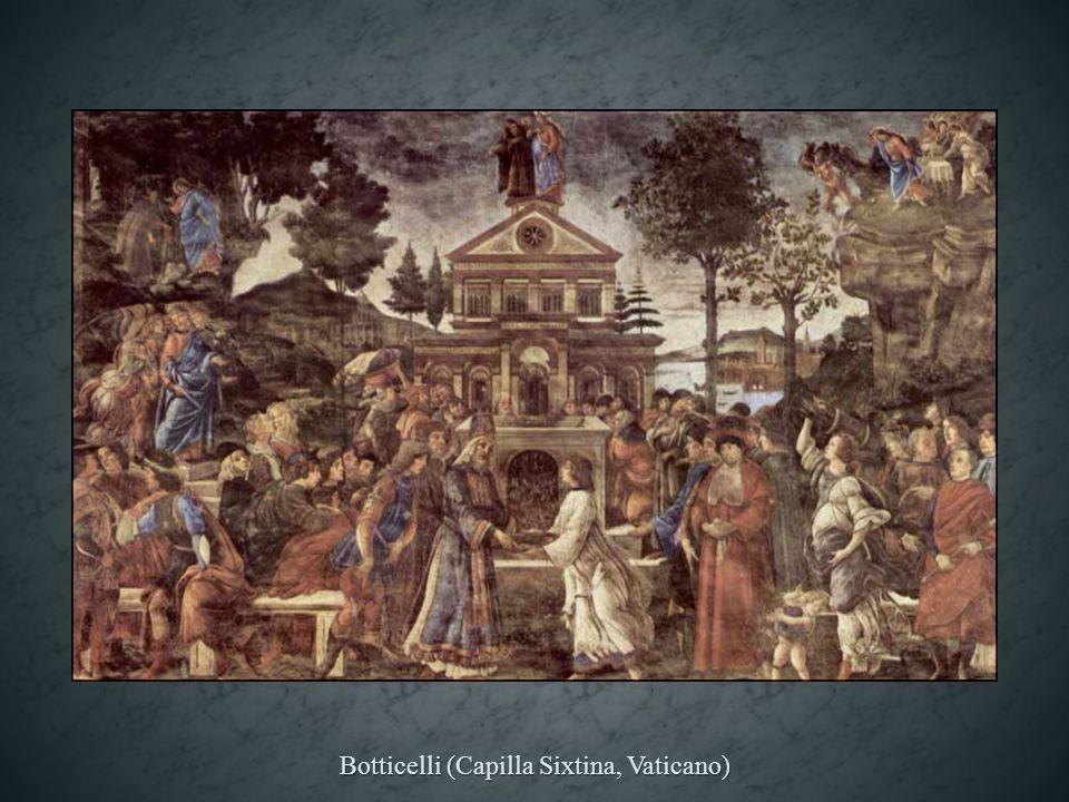 Botticelli (Capilla Sixtina, Vaticano)