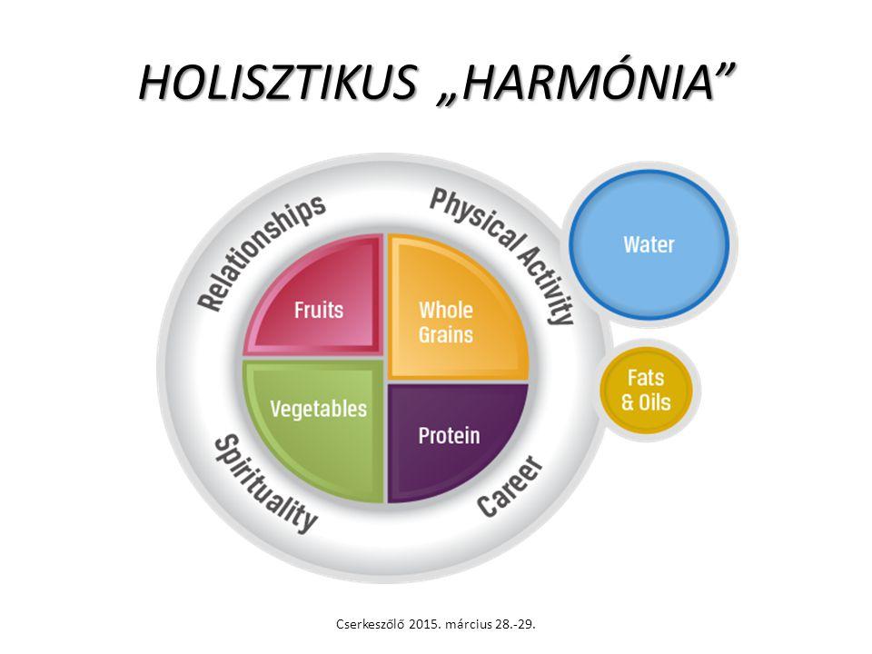 """HOLISZTIKUS """"HARMÓNIA"""" Cserkeszőlő 2015. március 28.-29."""