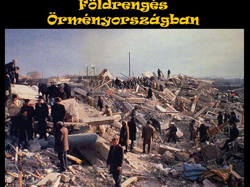 Földrengés Örményországban