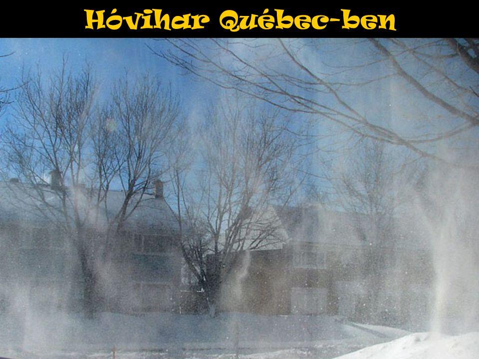 Hóvihar Québec-ben