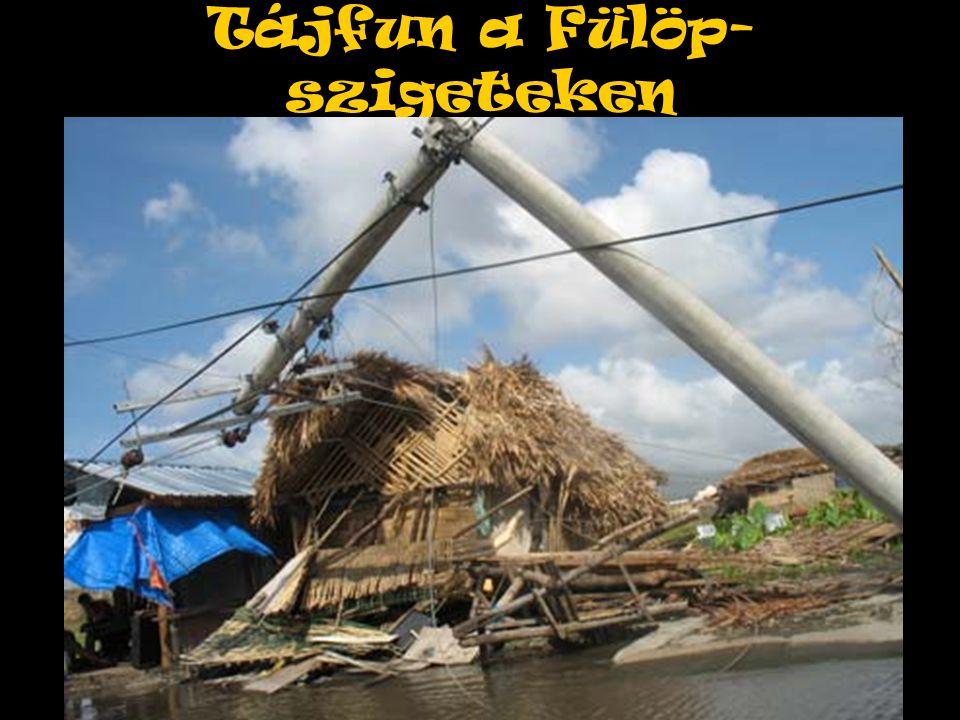 Tájfun a Fülöp- szigeteken
