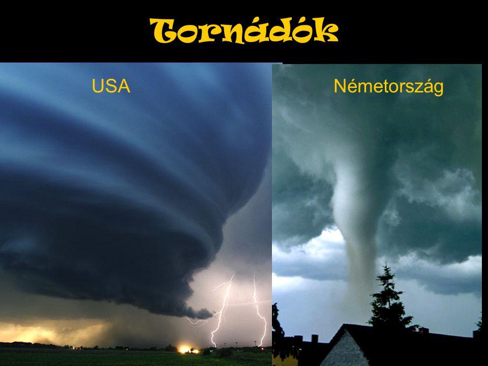 Tornádók USANémetország