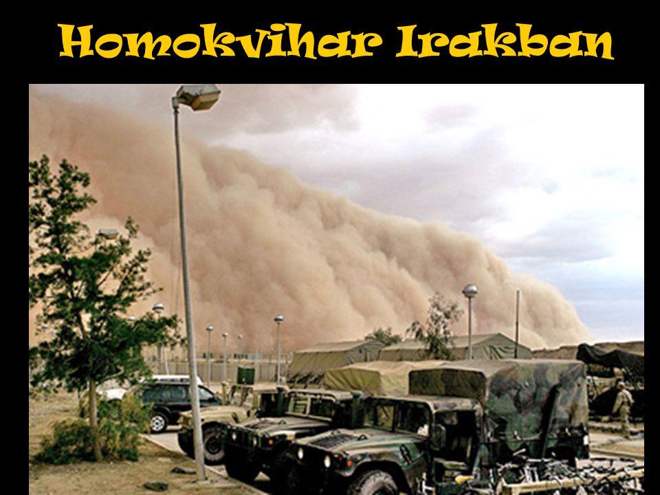 Homokvihar Irakban