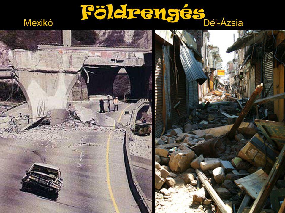 Földrengés MexikóDél-Ázsia