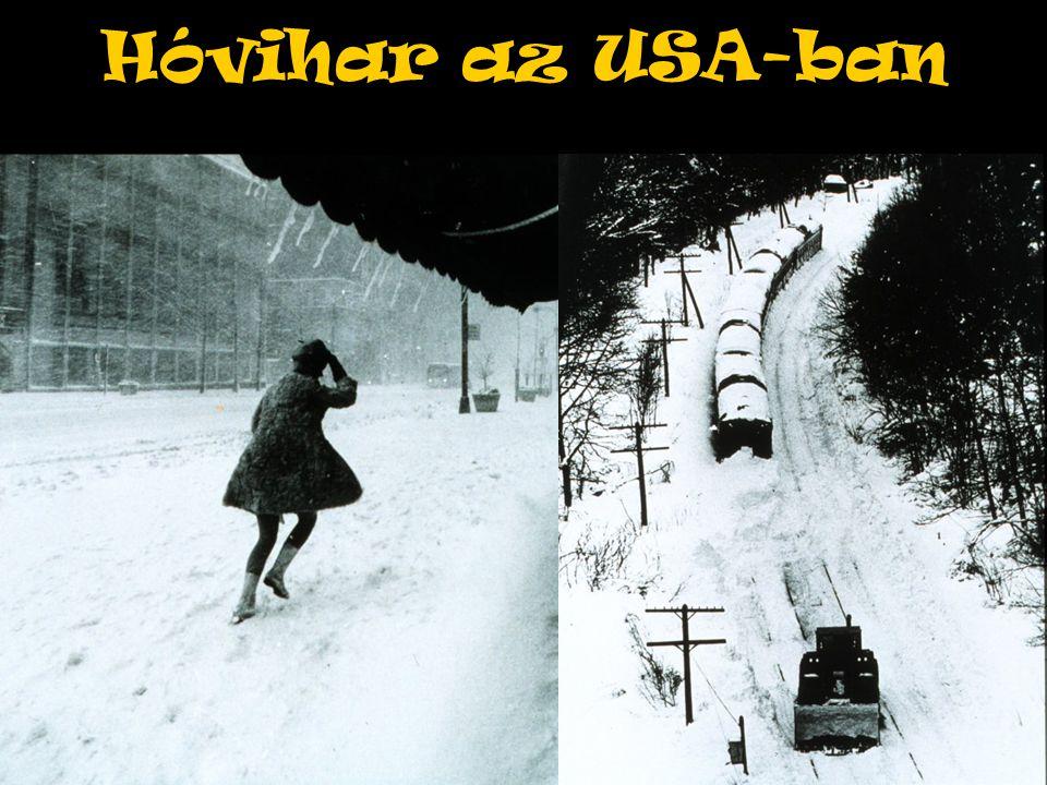 Hóvihar az USA-ban