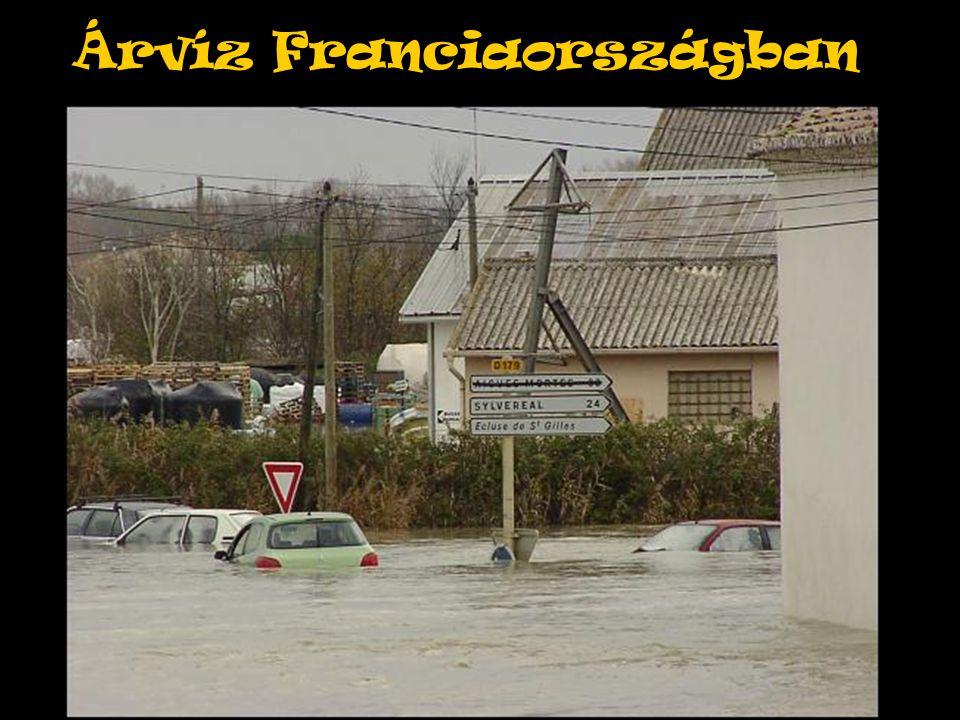 Árvíz Franciaországban
