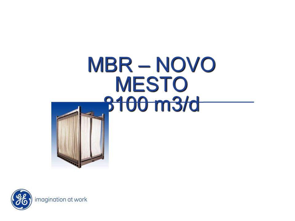 MBR – NOVO MESTO 8100 m3/d