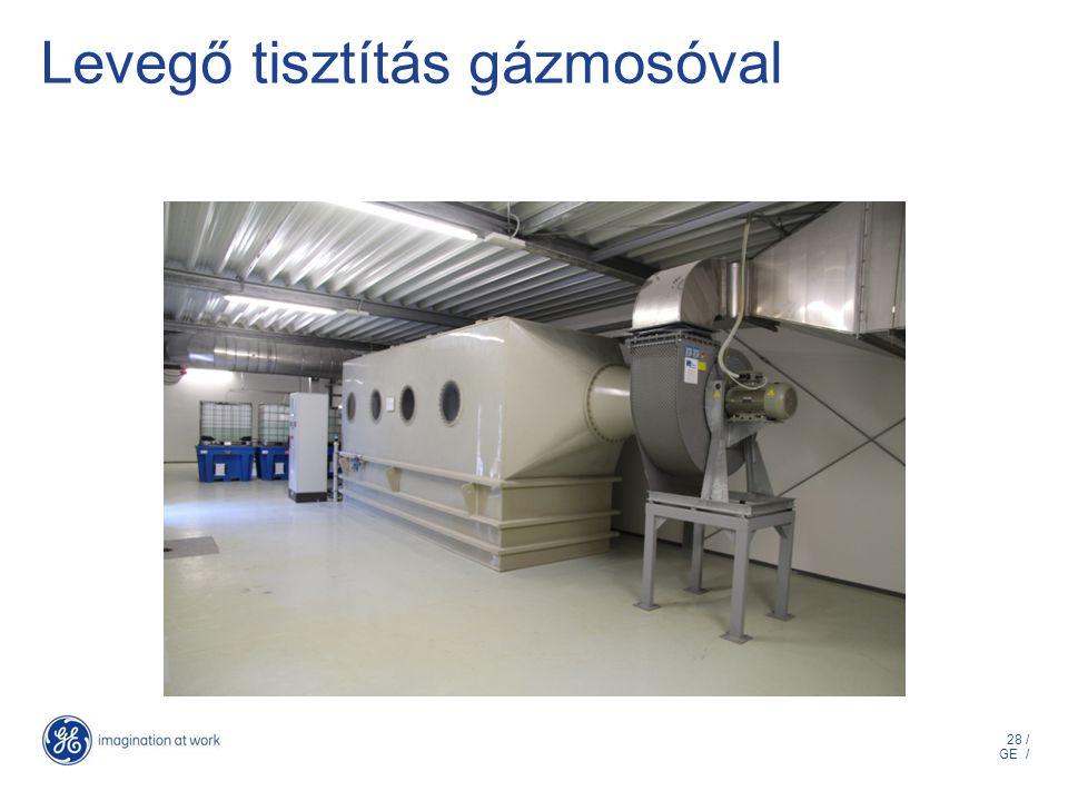 28 / GE / Levegő tisztítás gázmosóval