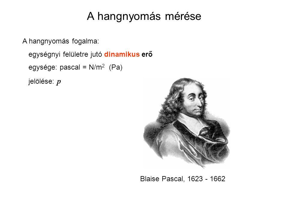 A frekvencia fogalma Időegységenként lezajló periodikus (ismétlődő) jelenségek száma Mértékegysége: Hz (és többszörösei) Heinrich Rudolph Hertz, 1857-1894