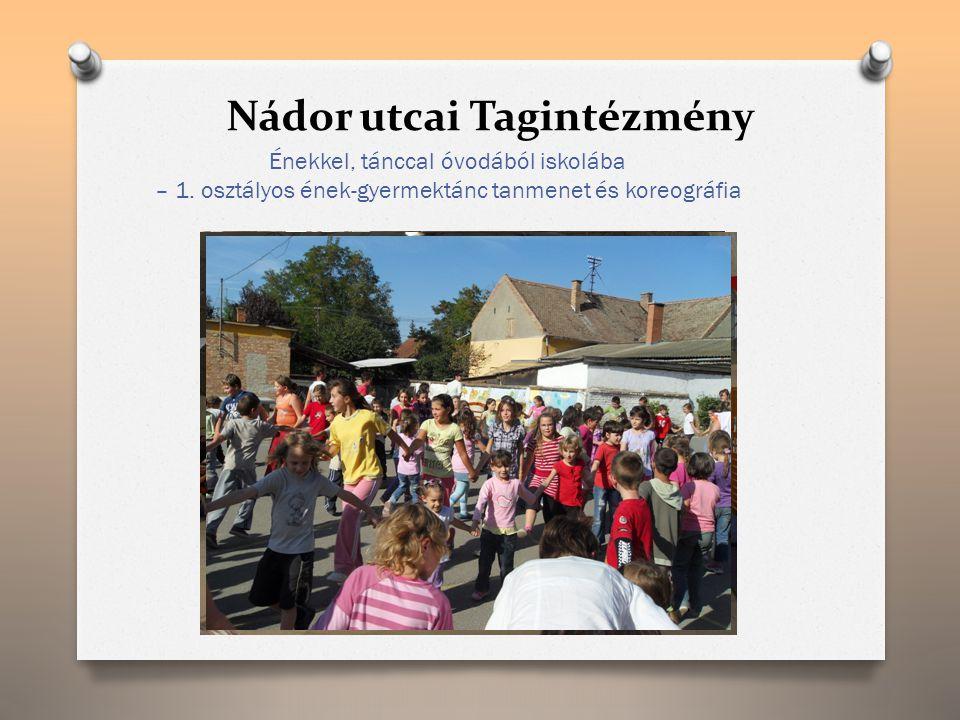 Nádor utcai Tagintézmény Énekkel, tánccal óvodából iskolába – 1.