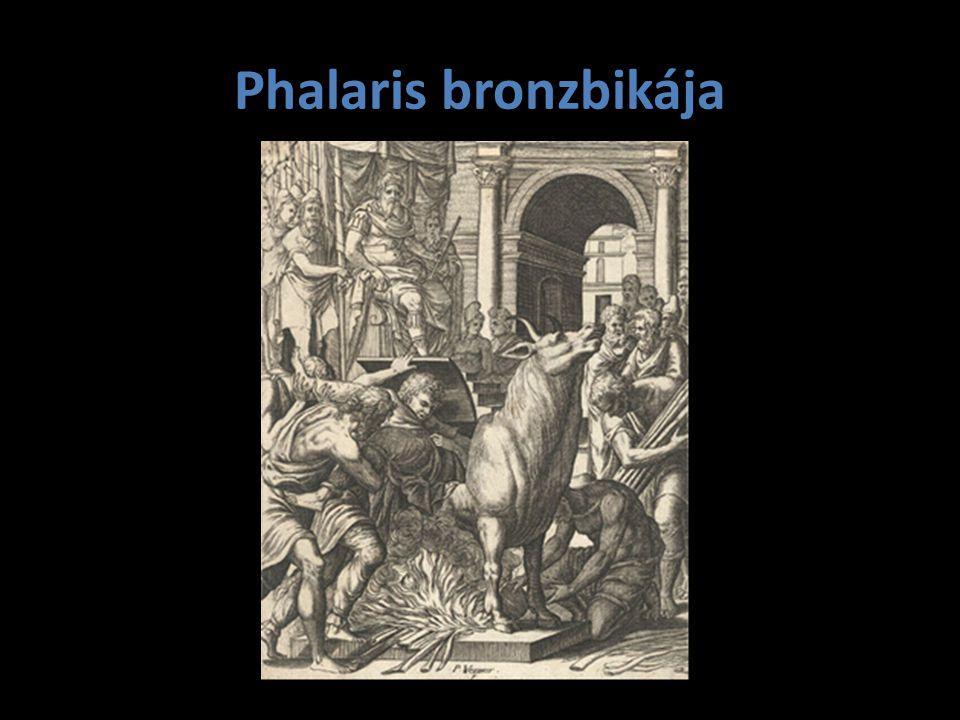 Phalaris bronzbikája