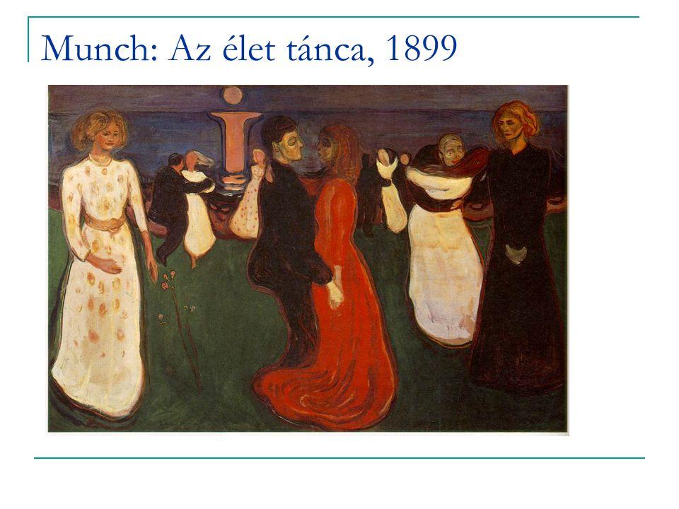 Munch: Az élet tánca, 1899
