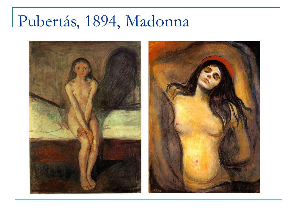 Pubertás, 1894, Madonna
