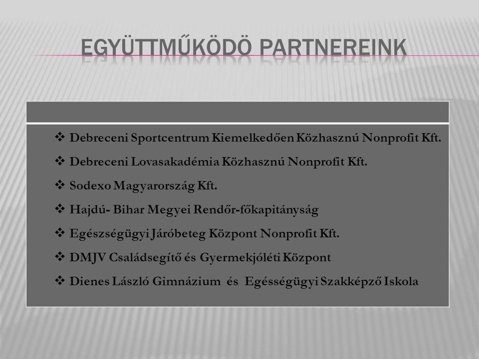  Debreceni Sportcentrum Kiemelkedően Közhasznú Nonprofit Kft.