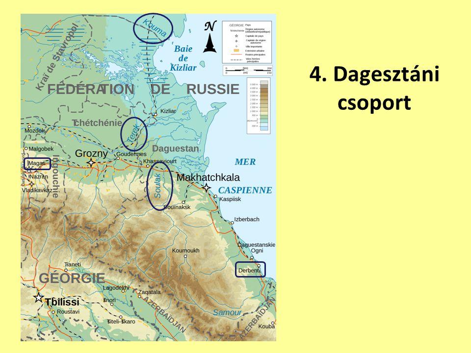 4.Kazárok Dagesztánban.
