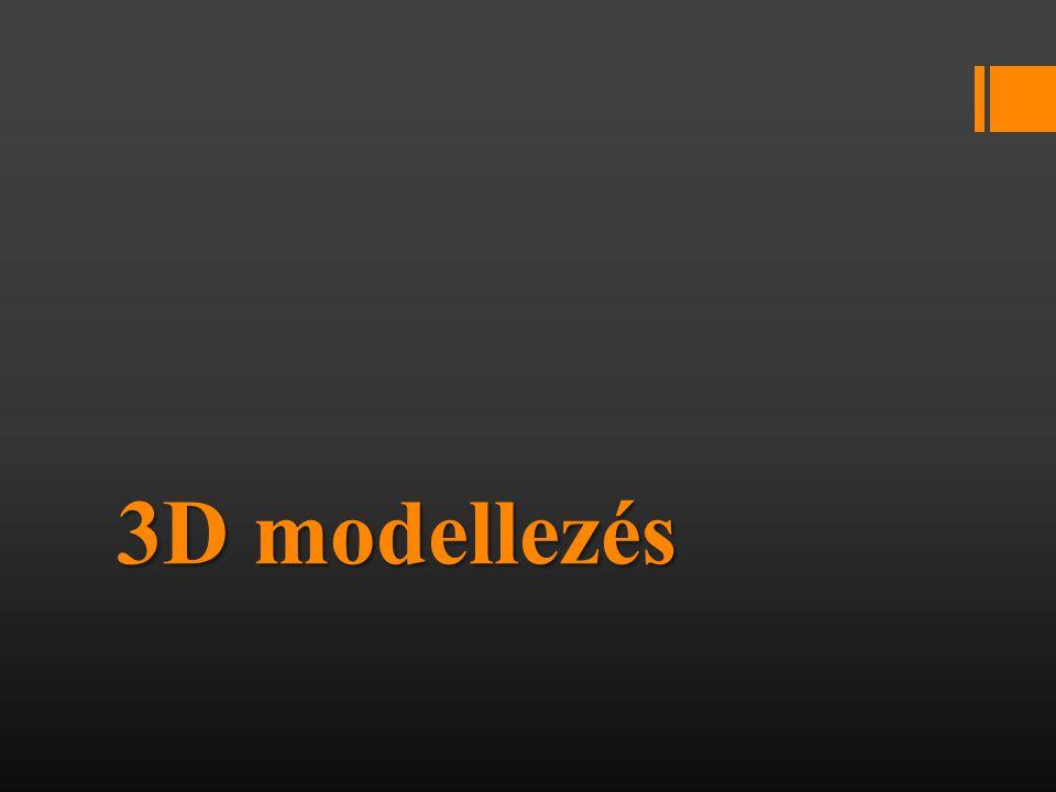 Mi is a 3D modellezés.