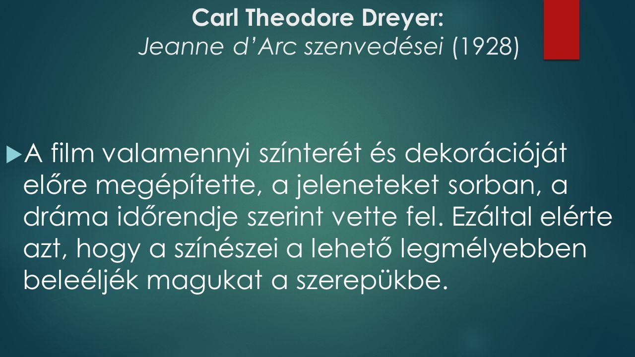 Carl Theodore Dreyer: Jeanne d'Arc szenvedései (1928) 01:20:00