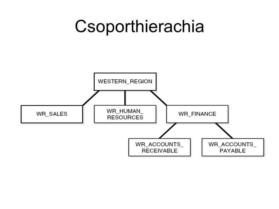 Csoporthierachia