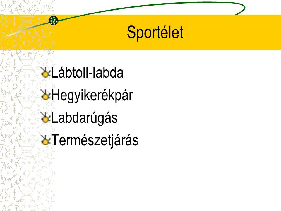 Sportélet Lábtoll-labda Hegyikerékpár Labdarúgás Természetjárás