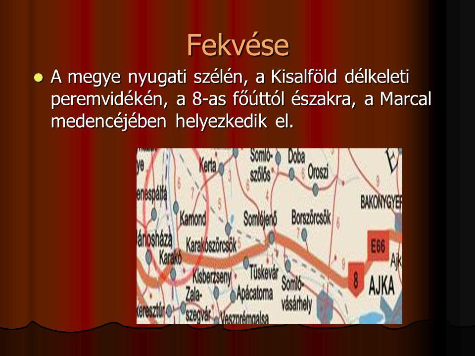 Megközelíthető Veszprém (Ajka) felõl : A 8-as úton Márkó, Bánd, Herend, Városlõd, Ajka- Bakonygyepes, Devecser, Somlóvásárhely, Somlójenõ.