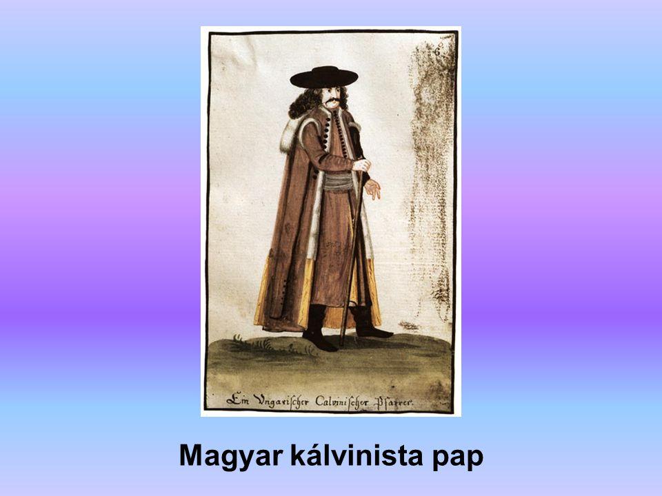 Magyar kálvinista pap