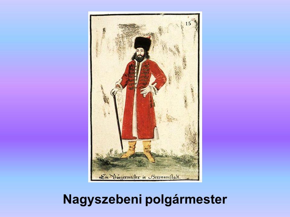 Nagyszebeni szász polgár