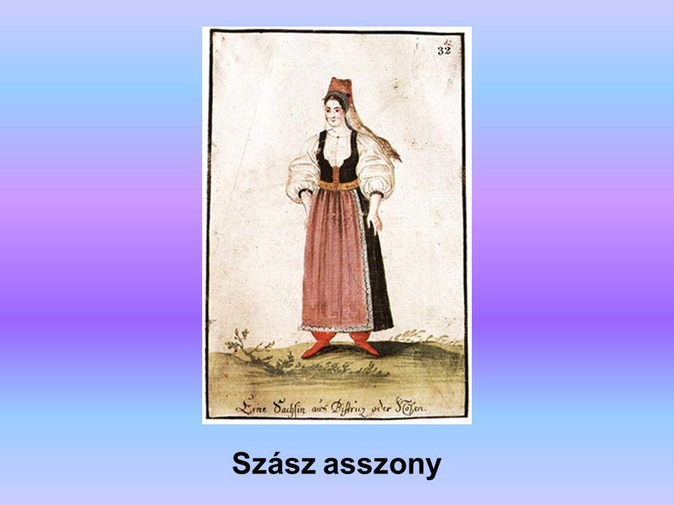 Szász asszony