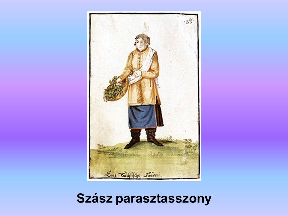 Szász parasztasszony