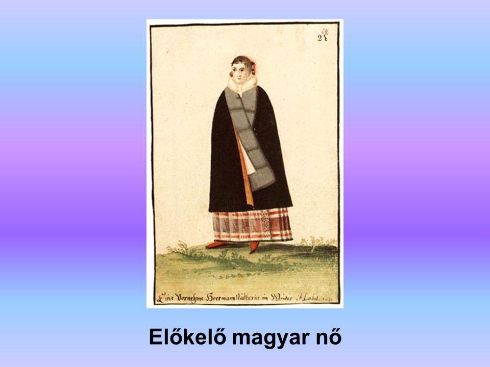 Előkelő magyar nő