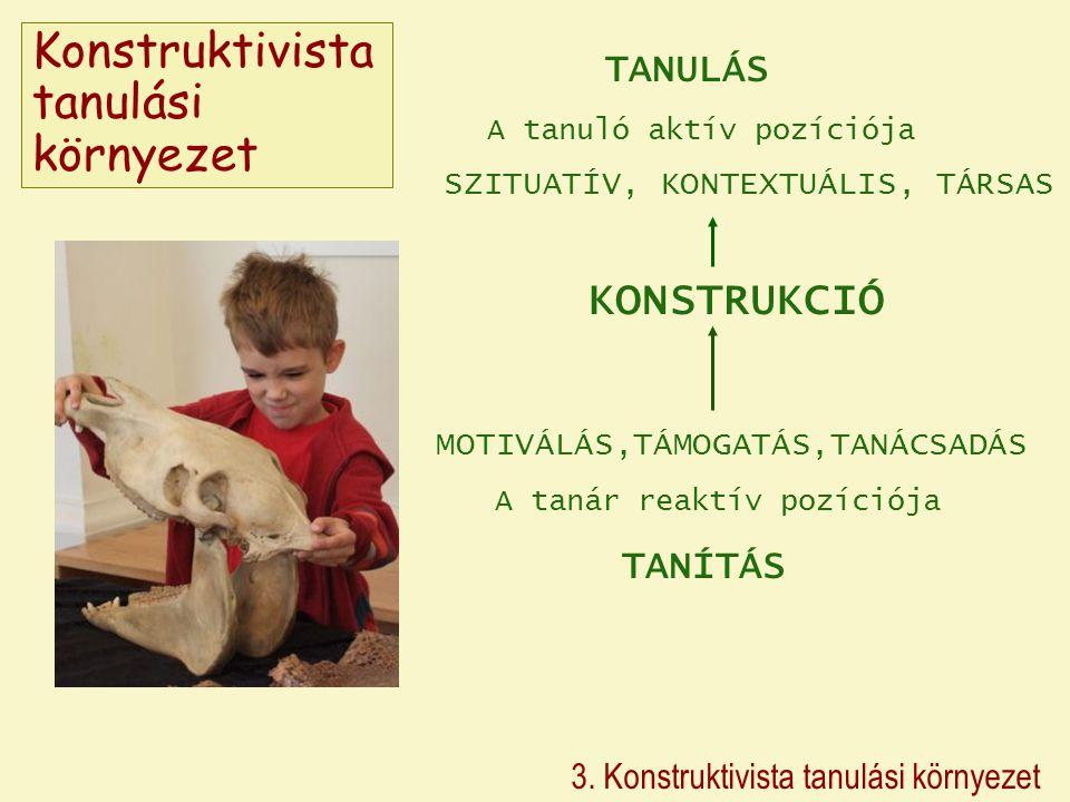 Konstruktivista tanulási környezet 3.