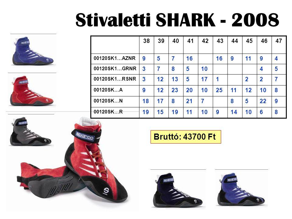 Stivaletti SHARK - 2008 38394041424344454647 00120SK1…AZNR 95716 91194 00120SK1…GRNR 37851045 00120SK1…RSNR 312135171227 00120SK…A 912232010251112108