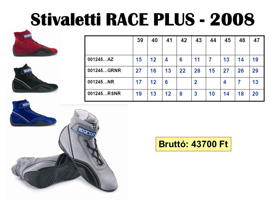 Stivaletti RACE PLUS - 2008 394041424344454647 001245…AZ 151246117131419 001245…GRNR 271613222815272629 001245…NR 1712624713 001245…RSNR 1913128310141