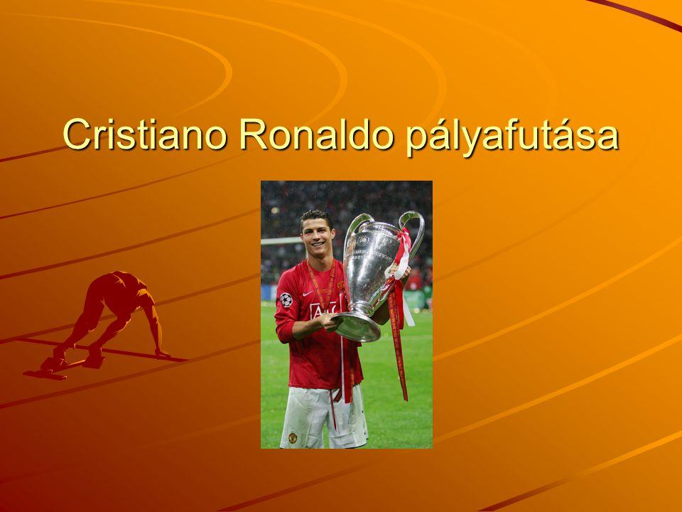 Cristiano Ronaldo pályafutása