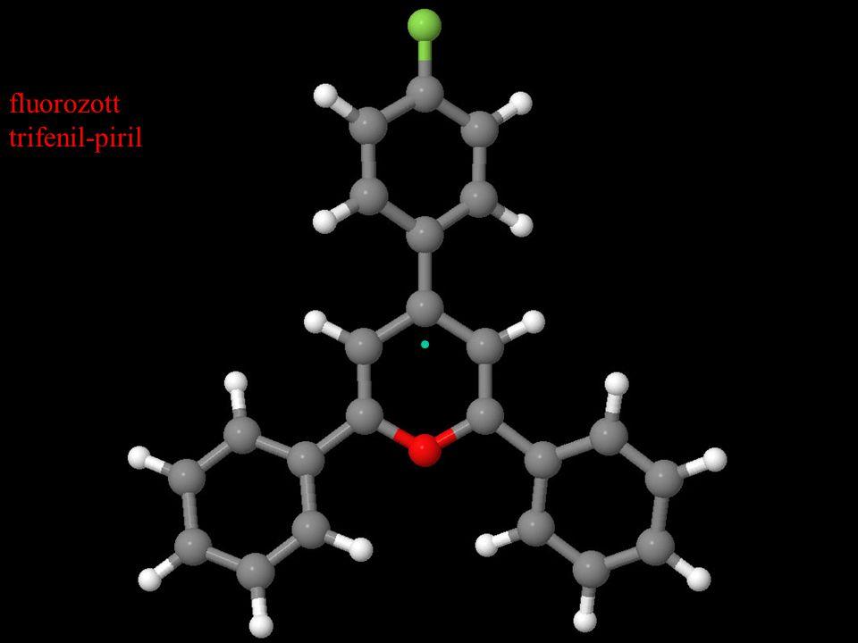 fluorozott trifenil-piril