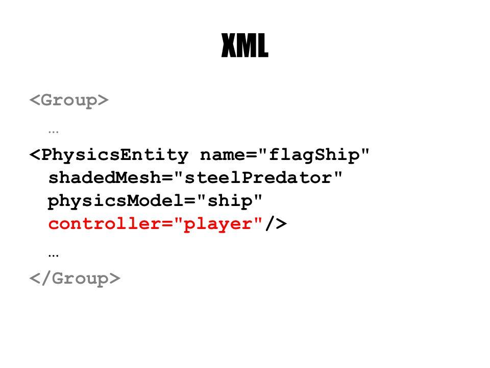 XML … …