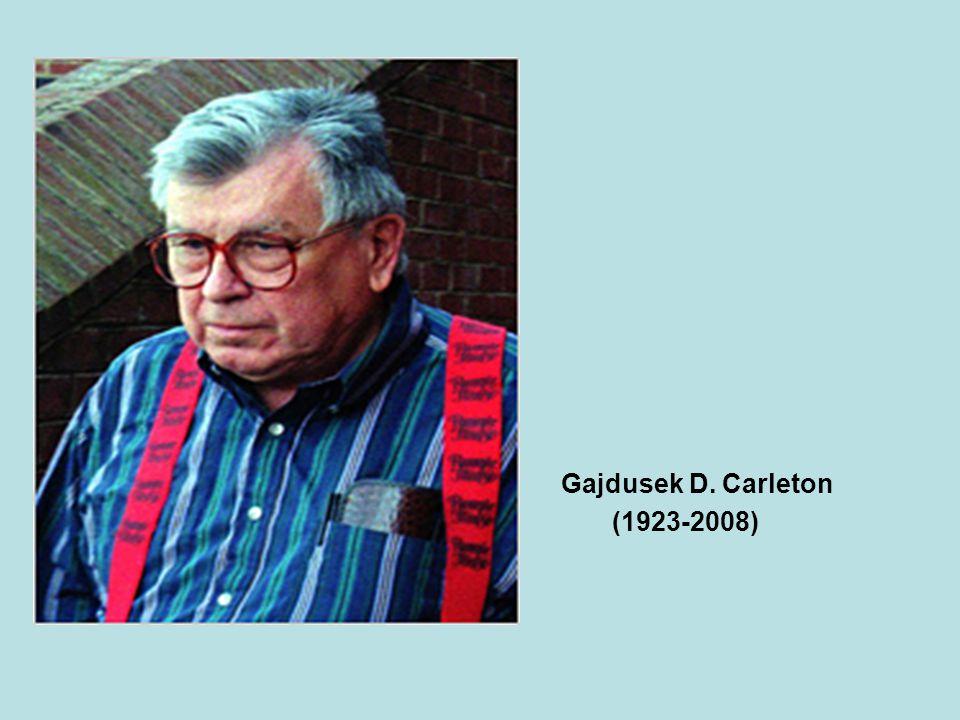 Gajdusek D. Carleton (1923-2008)