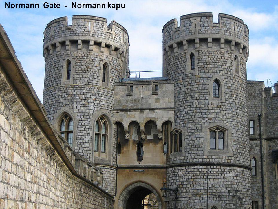 Henry VIII. Gate, Salisbury Tower - VIII. Henrik kapu és Salisbury torony