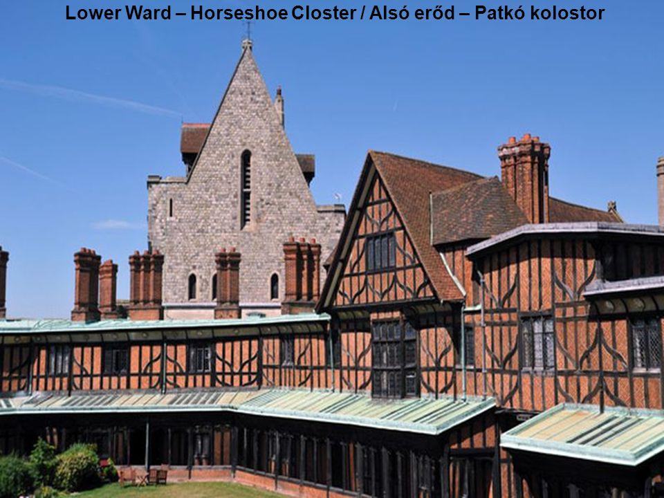 Közbenső erőd – a Winchester- és a Kerek torony