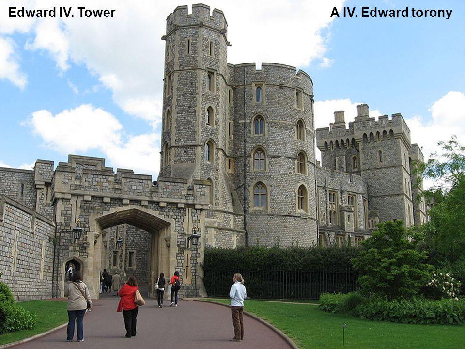 Southwest corner – Salisbury tower – Délnyugati sarok, Salisbury torony