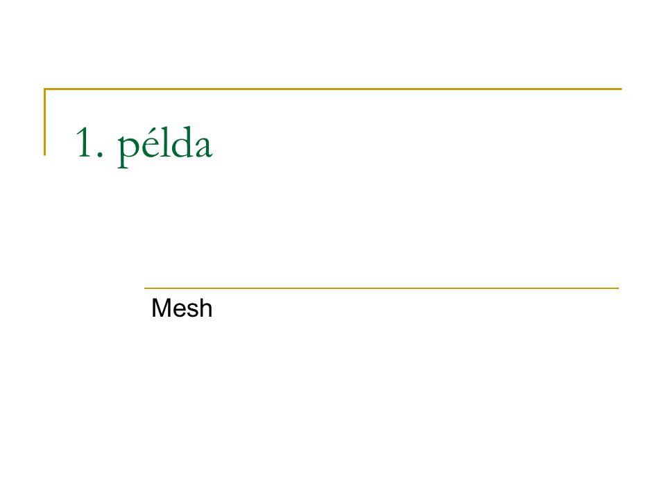 1. példa Mesh