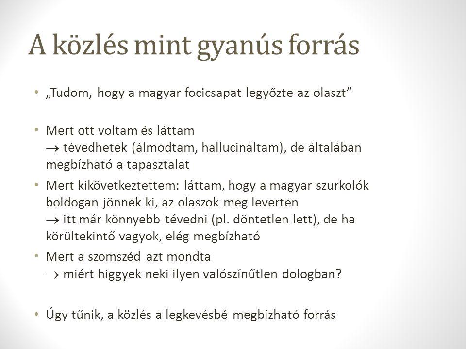 Magyarországon a helyzet...