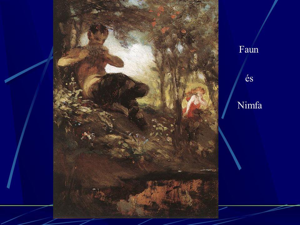 Faun és Nimfa