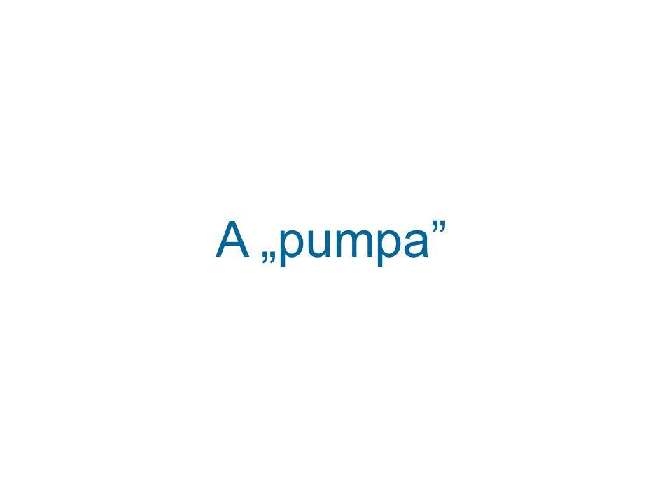 """A """"pumpa"""""""