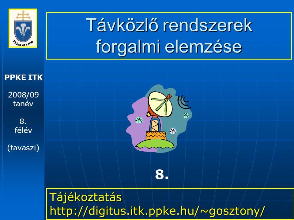 PPKE ITK 2008/09 tanév 8.