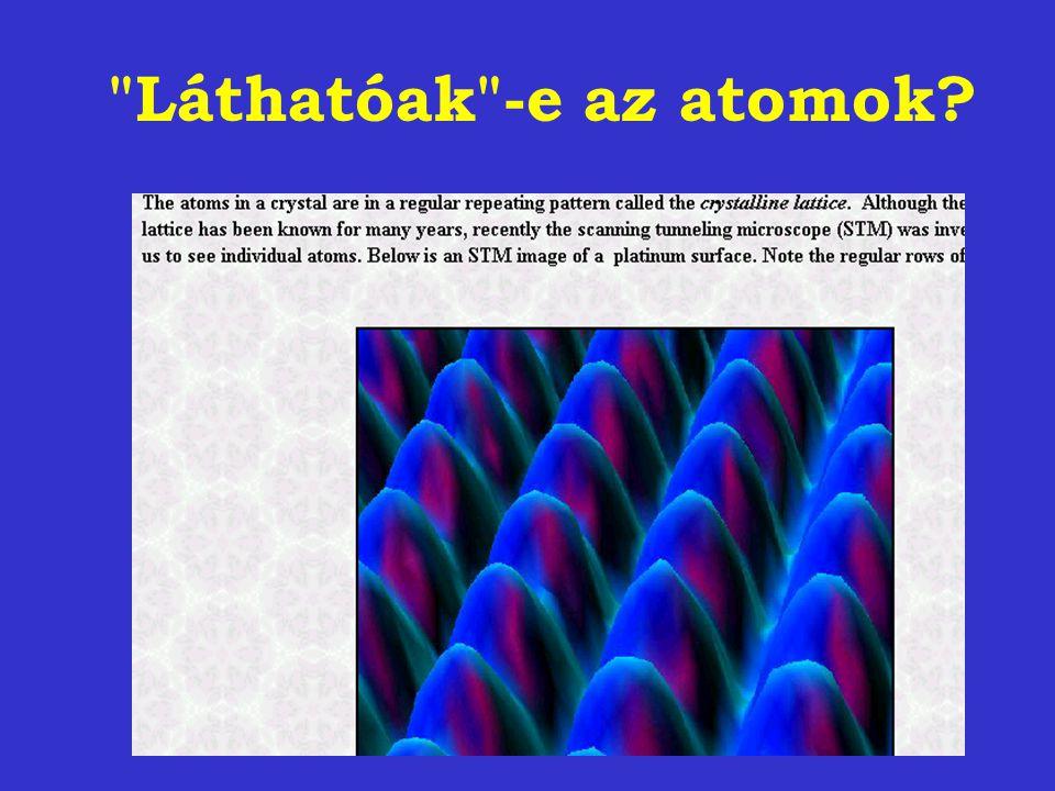 Láthatóak -e az atomok