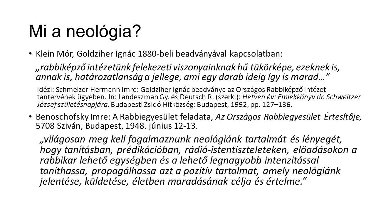 Mi a neológia.