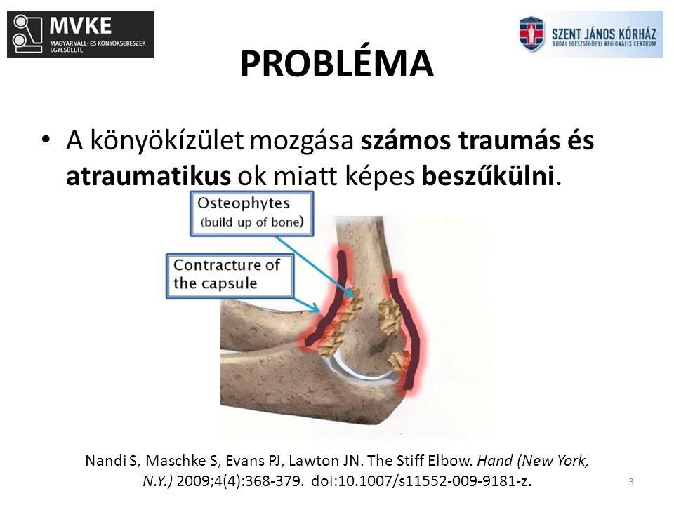 Szent János Kh Ortopédia 2001-2012 24 Primer arthrosis14 Posttraumás arthrosis19 RA8 SPA2 Összesen43