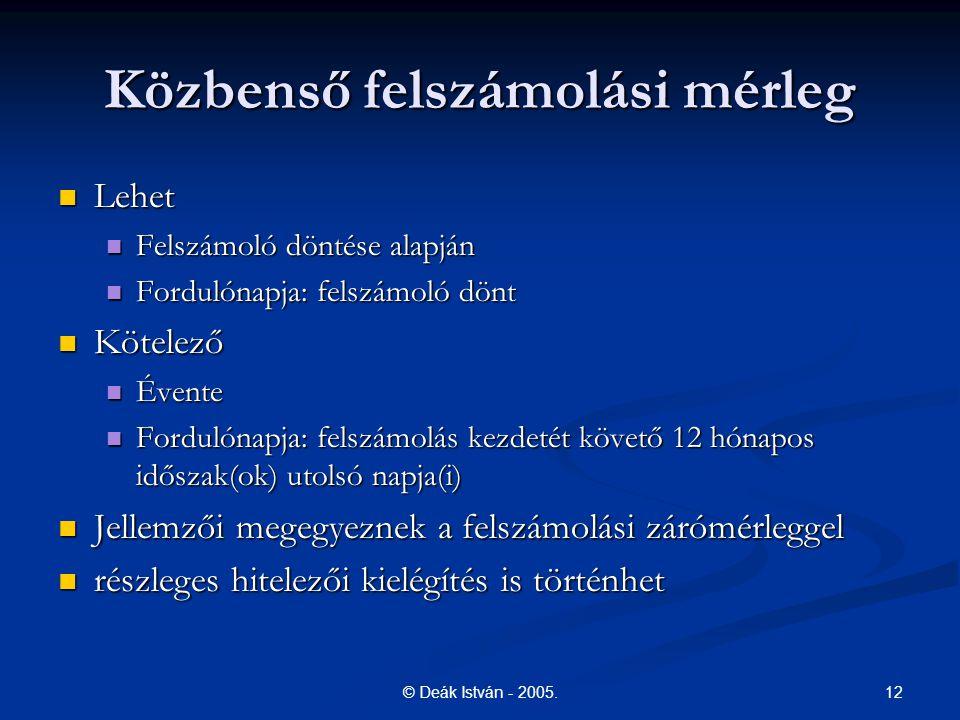 12© Deák István - 2005.