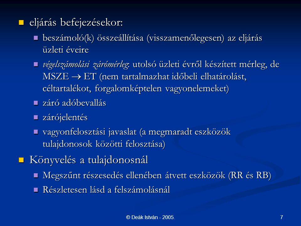 7© Deák István - 2005.