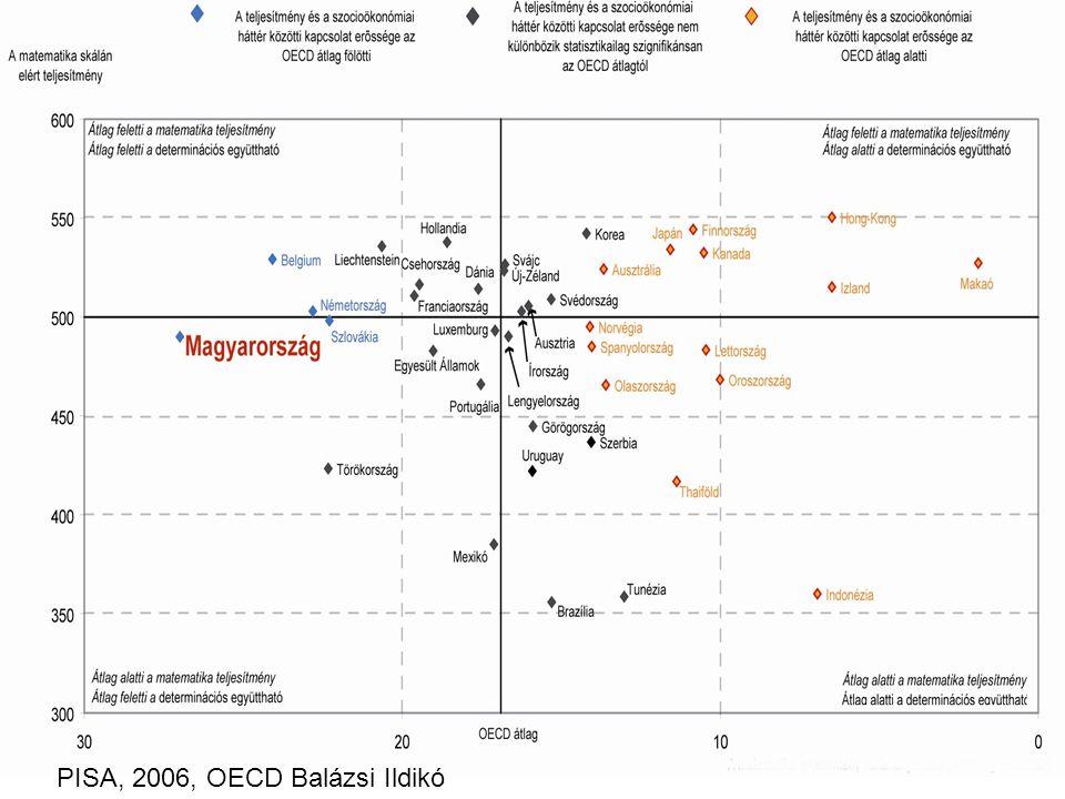Mennyire determinálja a szocio-ökonómiai háttér a diákok teljesítményét.